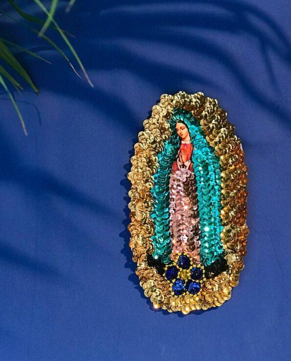Ecusson 15cm Vierge de Guadalupe