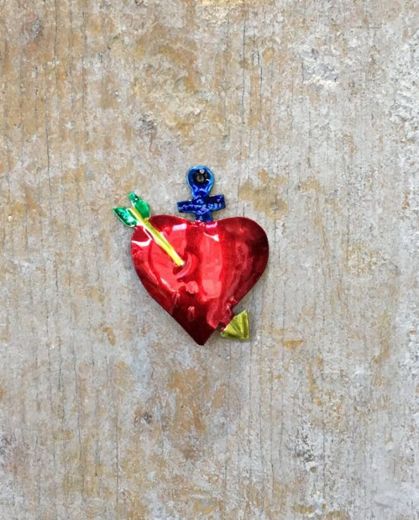 Petit coeur ex-voto Tienda Esquipulas - modèle 6