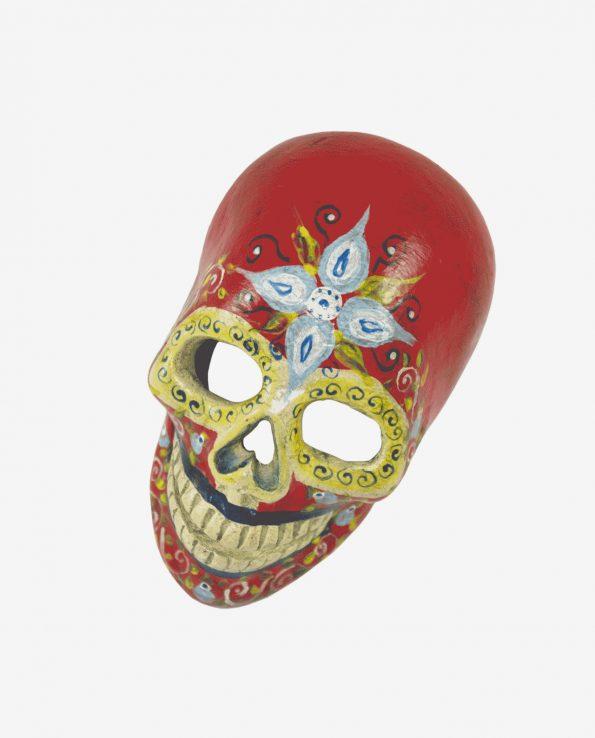 Crâne vanité du Guatemala, Rouge