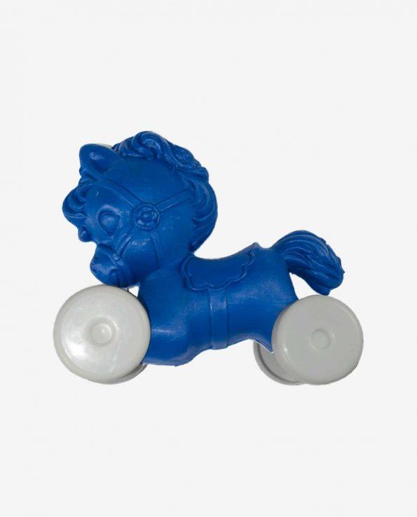 Jouet poney plastique couleurs assorties