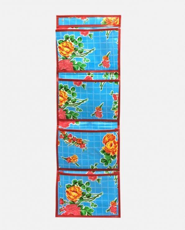 Rangement toile cirée 88x30cm couleurs assorties