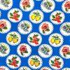 Toile cirée (par rouleau de 11m*120cm), Granadas bleu