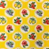 Oilcloth Granadas, yellow (by roll 11mx120cm)