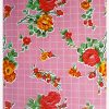 Oilcloth Rosedal, pink