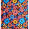 Toile cirée (par rouleau de 11m*120cm), Lluvia de flores mauve