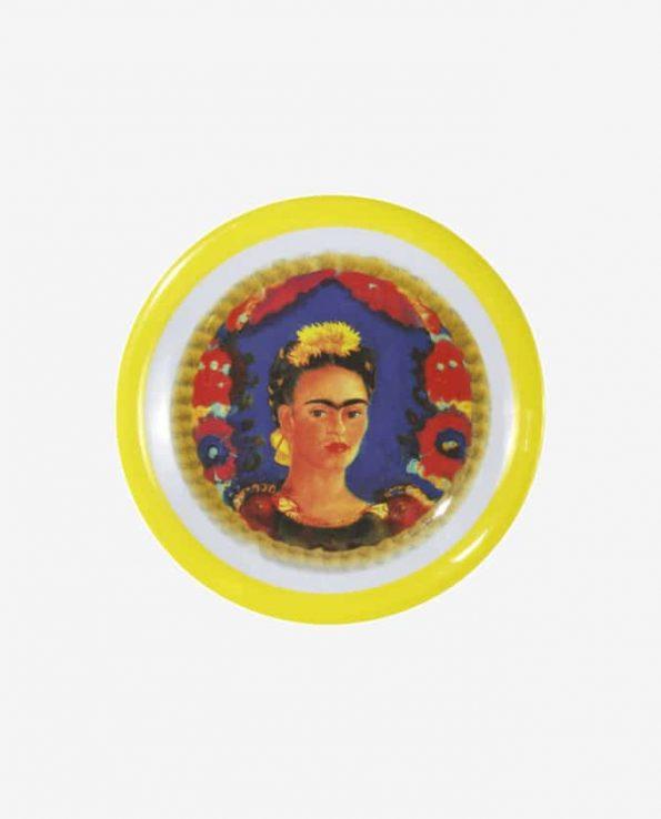 Service Frida Kahlo Assiette, Jaune