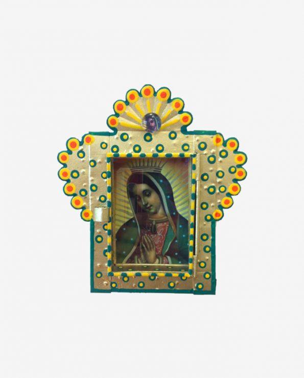 Nicho mini Guadalupe 14*14 cm