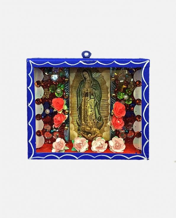 Vitrine MM Personnage mexicain 14,5*12 cm