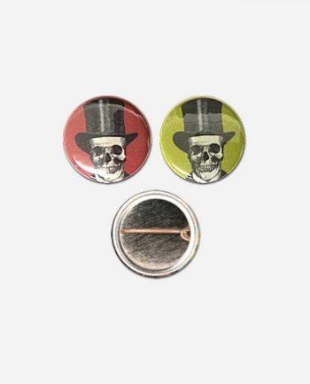 Badge 25mm Crânes