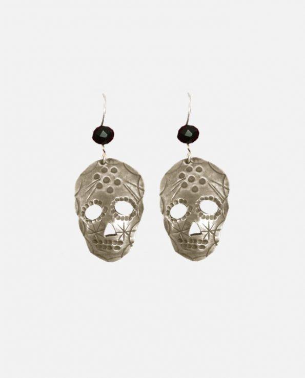 Boucles d'oreille Argentan, crâne