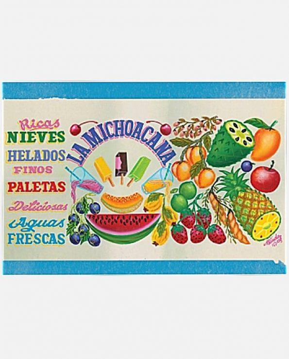 Carte michoacana 12x17,5 +enveloppe