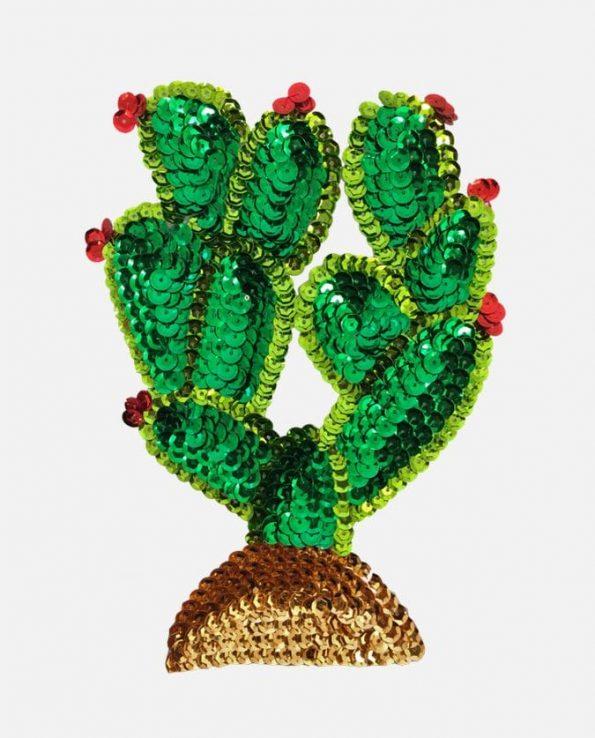Ecusson à coudre Cactus 17cm