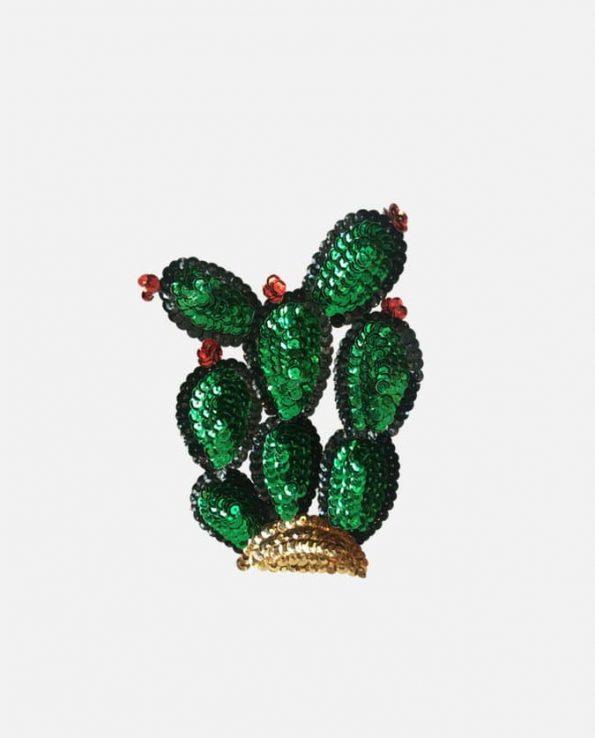 Ecusson à coudre Cactus 12cm