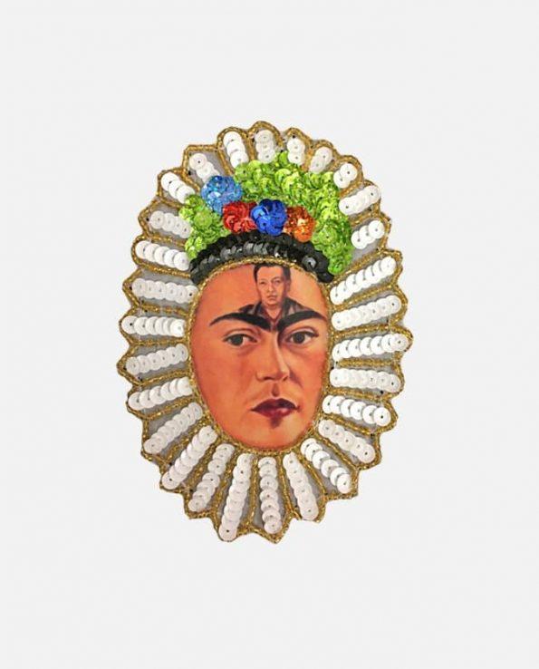 Ecusson à coudre Frida Kahlo, Diego en mi mente