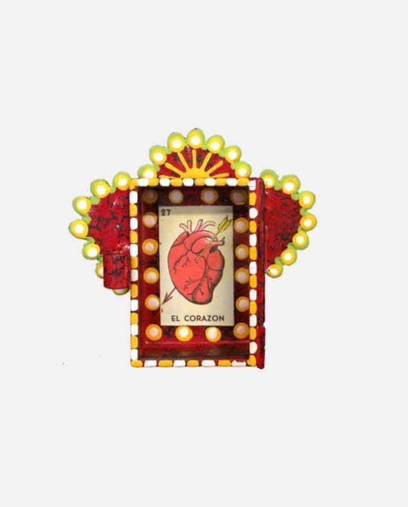 Nicho Micro Coeur Loteria 7,5*7,5 cm