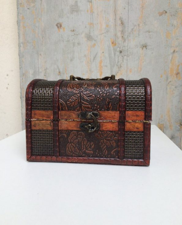 Boîte décorative ex-voto art mexicain Luchador - modèle 2