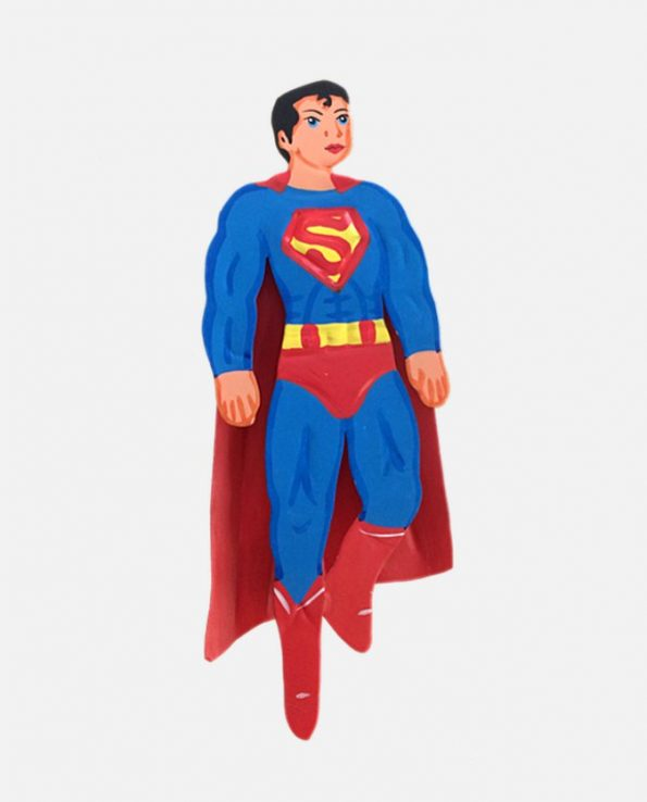 Figurine artisanale mexicain super-héro superman