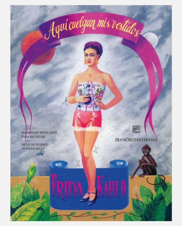 Personnage à découper Frida Kahlo