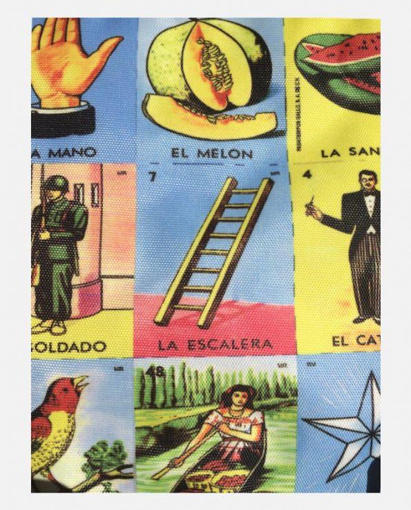 Trousse motifs Loterie mexicaine