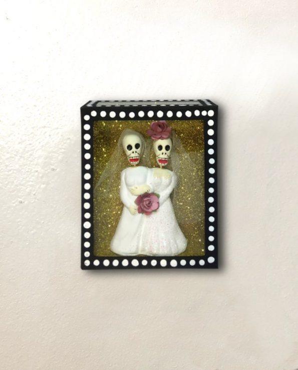 Vitrine mexicaine amor eterno couple femmes