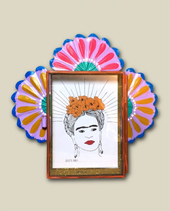 Vitrine mexicaine Frida Kahlo