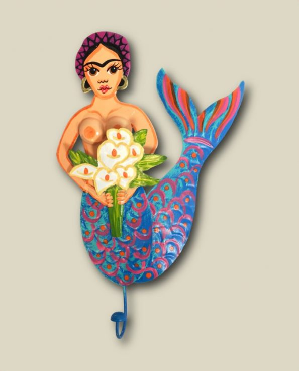 Patère murale mexicaine Frida Kahlo