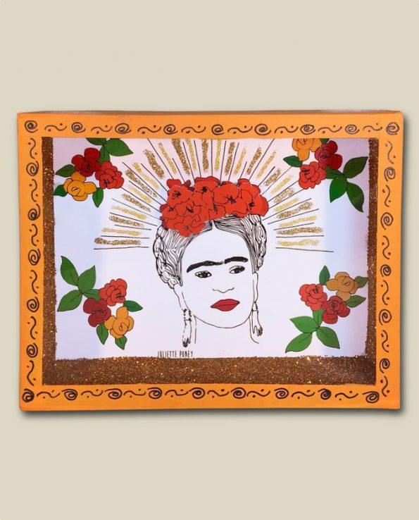 Niche vitrine mexicaine Frida Kahlo