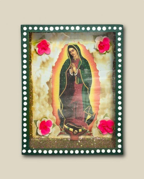 Niche vitrine mexicaine Guadalupe