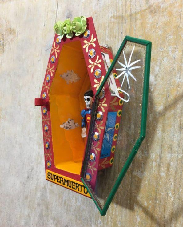 Cercueil Super Muerto ouvert - Tienda Esquipulas