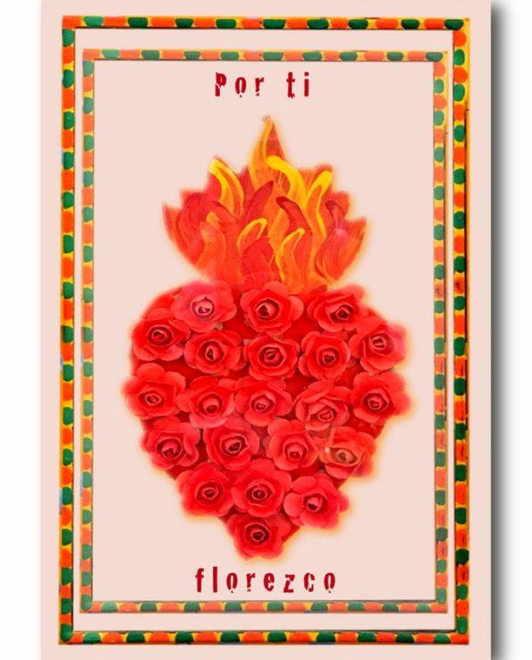 Carte postale Je fleuris pour toi