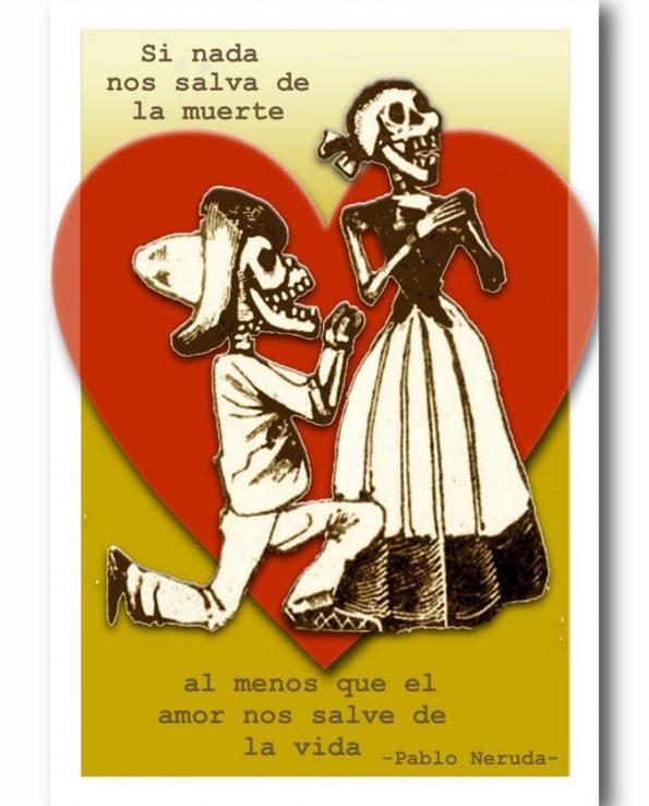Carte postale Pablo Neruda