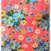 Toile cirée mexicaine Hibiscus rose