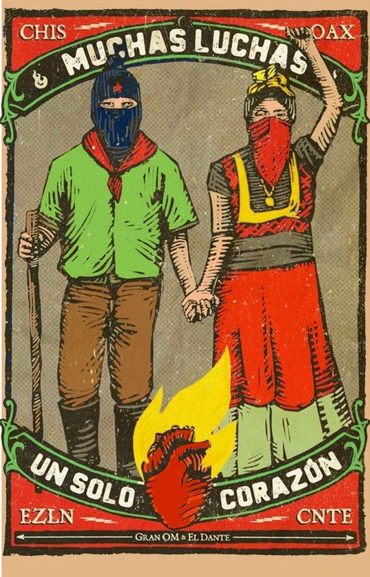 Carte postale muchas luchas Tienda Esquipulas