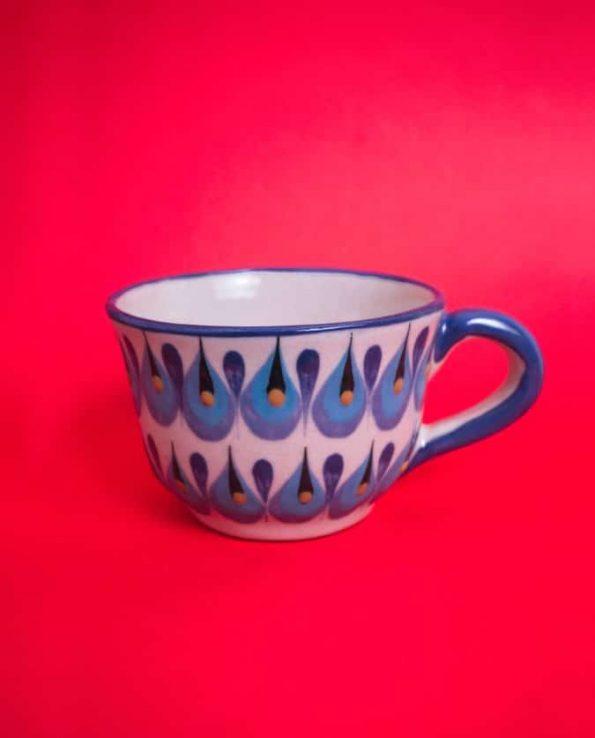Tasse en céramique du Guatemala