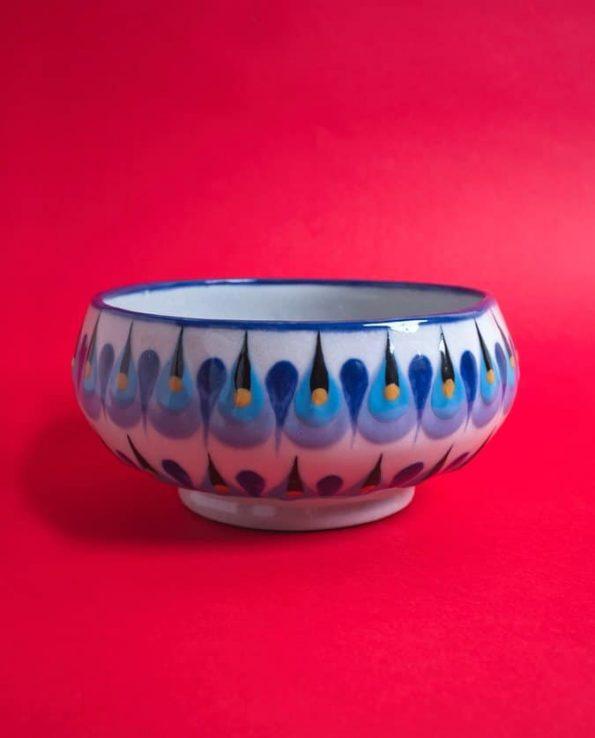 Bol en céramique traditionnelle du Guatemala