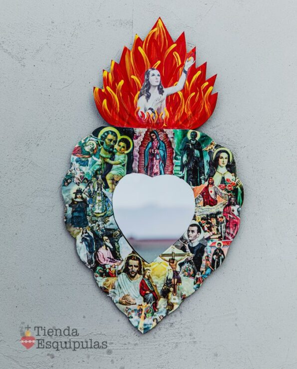 Coeur miroir Santos