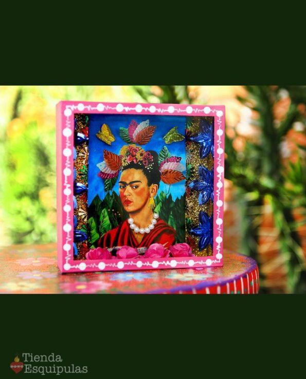 Vitrine autoportrait Frida Kahlo - Autoretrato doctor eloesser