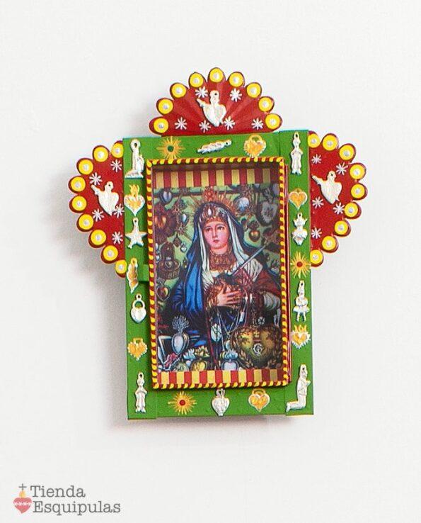 Nicho retablo - Virgen de los milagros