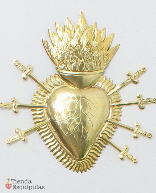 Coeur 7 épées