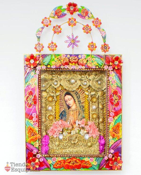 Grand autel mural - Vierge de Guadalupe