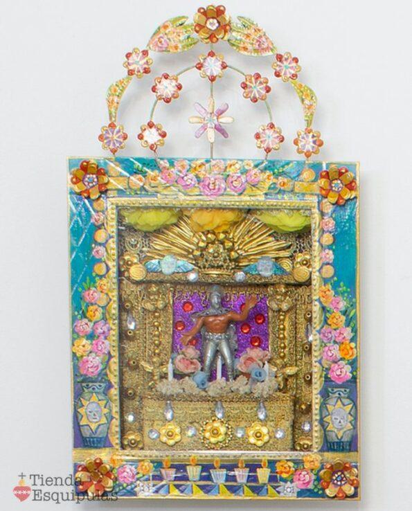 Grand autel mural - Lucha Libre