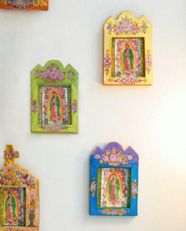 Niche Vierge de Guadalupe écoresponsable - Arc