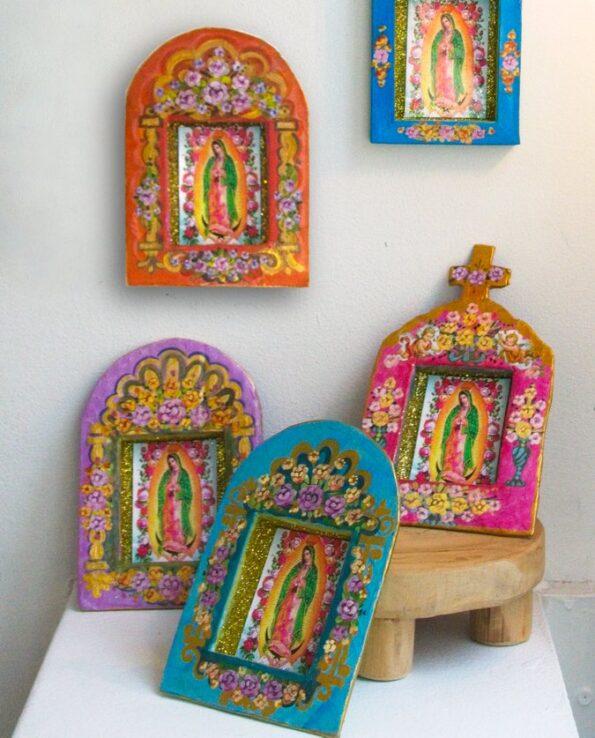 Niche Vierge de Guadalupe écoresponsable - Coupole