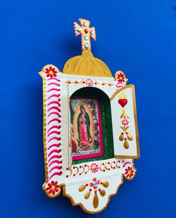 Niche Eglise Vierge de Guadalupe - profil
