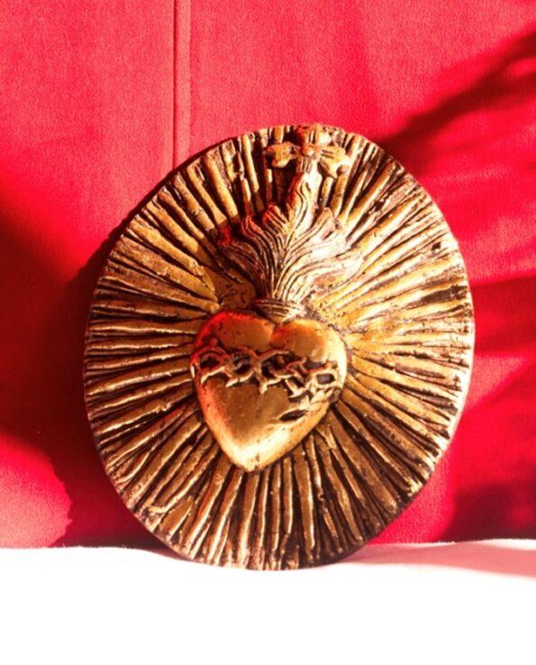 Coeur couronnes d'épines écoresponsable