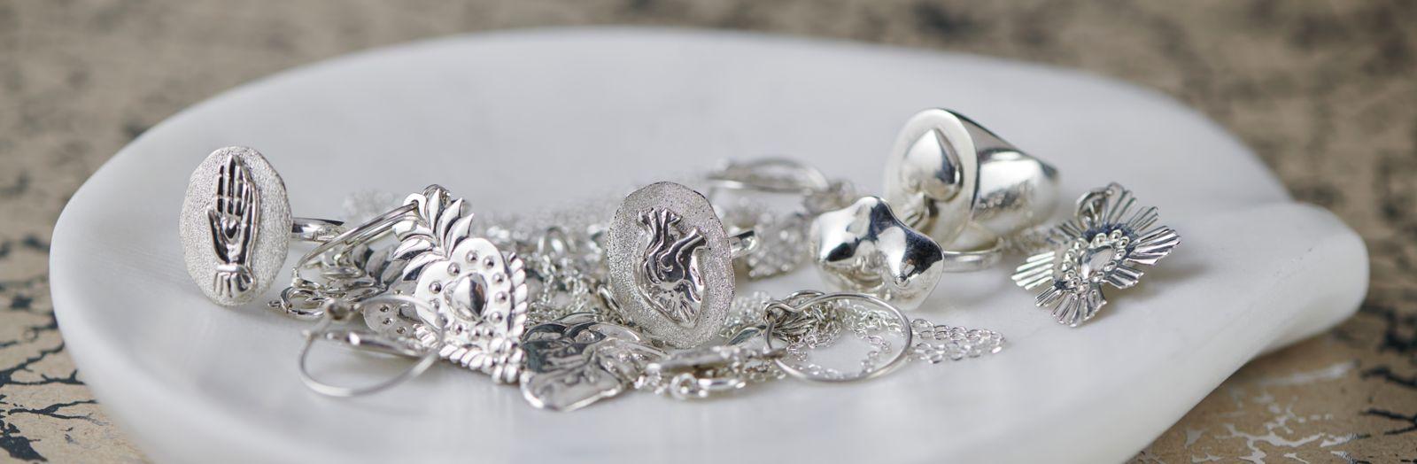 925 silver jewelry collection ex-votos Tienda Esquipulas