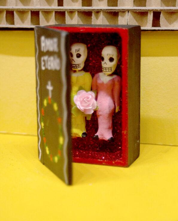 Cercueil Amor Eterno - Couple femmes
